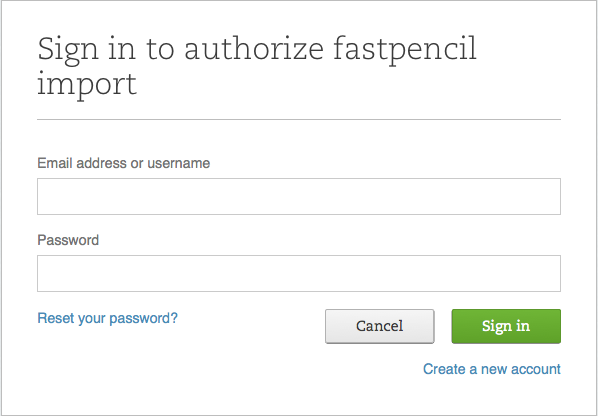 Importing Evernote Notes to FastPencil Writing Tool